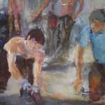 Baustelle II, 30 x 30 cm, 2009