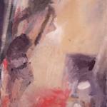 Blitzlicht, 40 x 30 cm, Eitempera auf Leinwand 2012