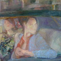 Vorbei, 80 x 125 cm, 2012