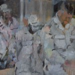 Andacht, 30 x 50 cm, 2008