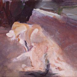 Hundewiese, 30 x 40 cm, 2012