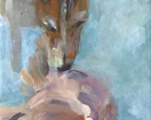Begegnung I, 24 x 30 cm, 2011